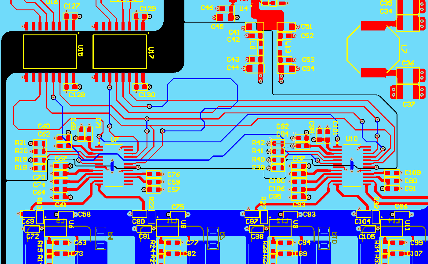 How to connect AGND and DGND in multilayer PCB? - FEDEVEL Forum